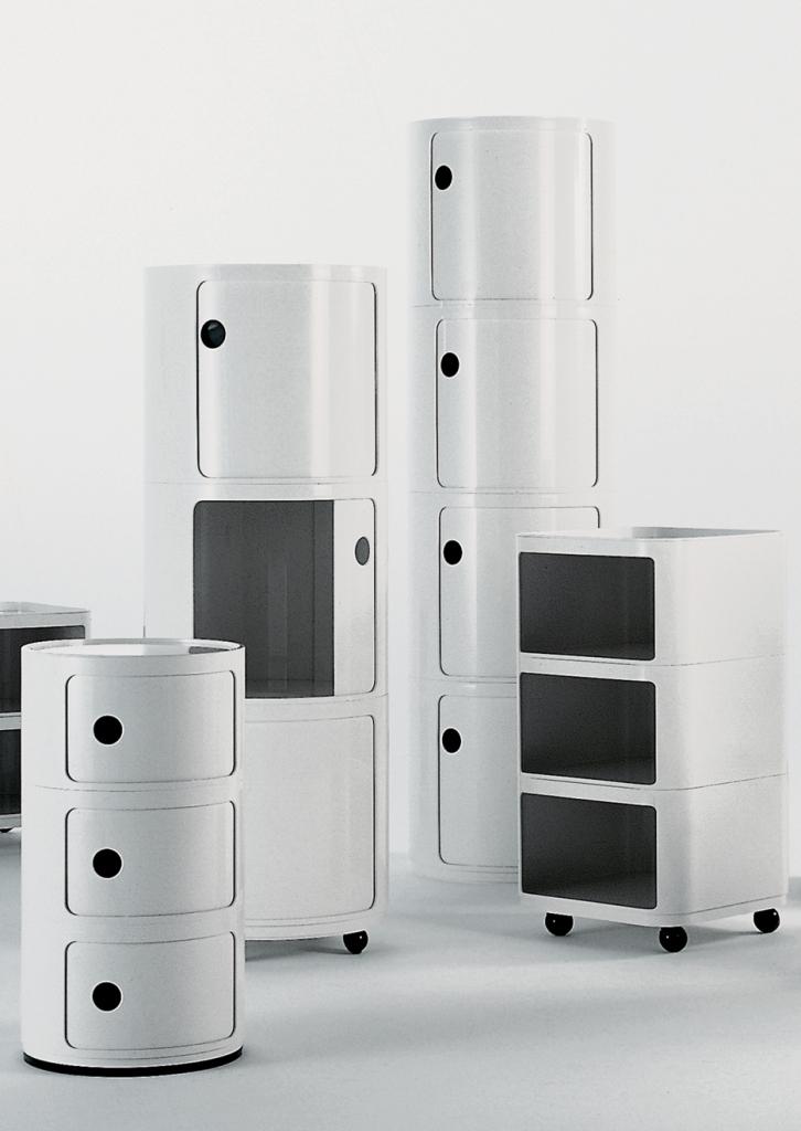 kartell sverige componibili modul byggbar cm vit. Black Bedroom Furniture Sets. Home Design Ideas