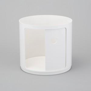 Componibili Modul, byggbar, diam.42 cm, Vit