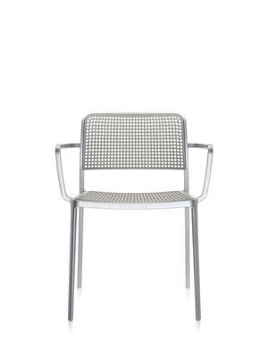 Audrey - stomme i matt/blank aluminium